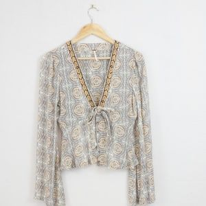 3 for $10 SALE Free People Boho Top Blouse